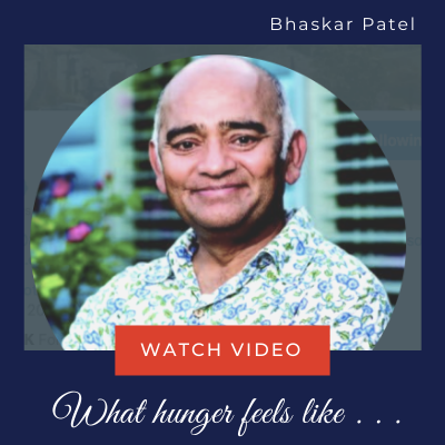 Bhaskar Patel - Akshaya Patra Foundation World Hunger Day