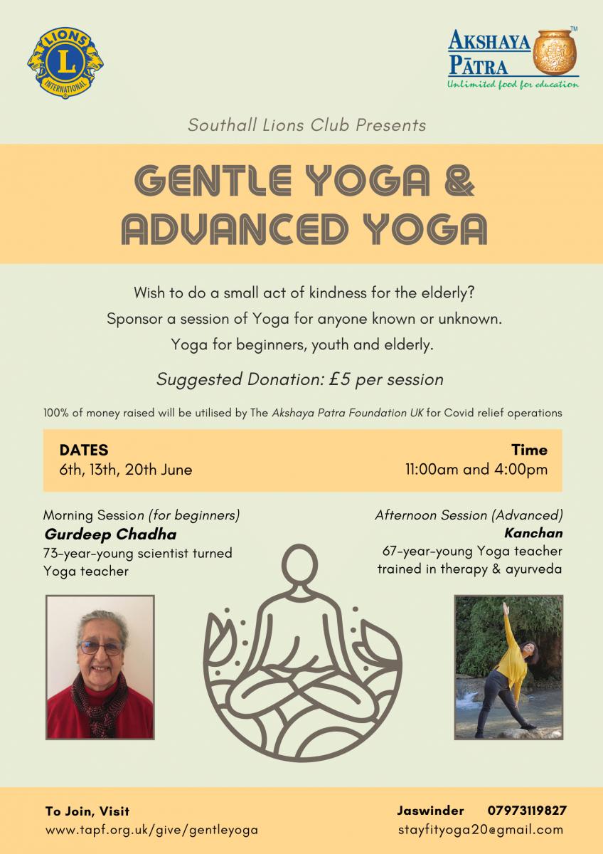 Yoga Poster - Akshaya Patra